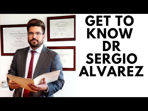 Get to know Dr.Sergio Alvarez