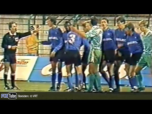 1991-1992 - UEFA-Cup - 03. 8ste Finale - GKS Katowice - Club Brugge 0-1