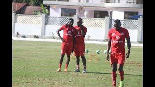 Okwi Kagere Wafanya Mazoezi ya kuwaua Ndanda FC
