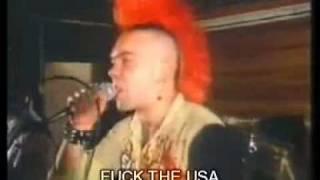 """The Exploited - Fuck the usa """"subtitulado en español"""" fuck"""