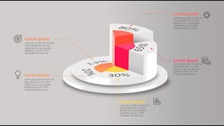 How to make creative graph / chart in Microsoft PowerPoint. PPT tricks.