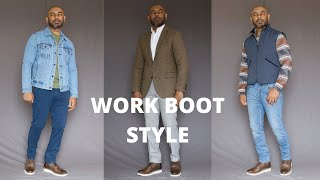 How To Wear And Style Work Boo…