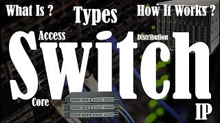 What is Switch in networking and How it Works | Types of Switches in Networking |Assign IP to Switch