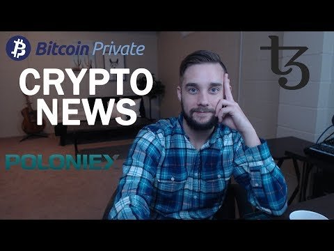 Poloniex Bought Out, Bitcoin Private Fork, Tezos Foundation President Resigns, Bitcoin TA