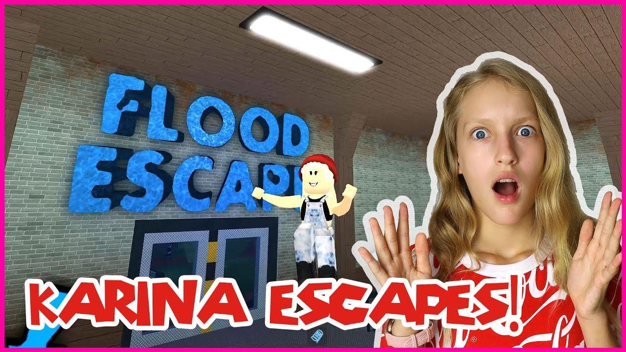 Karina Escapes The Flood Youtube