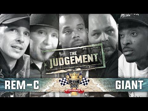 The Judgement: Rem-C vs Giant 1/8ste Finale Punchoutbattles Live