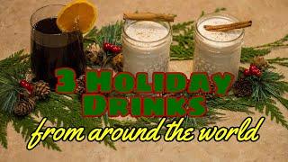 Download 3 international hot holiday drink recipes