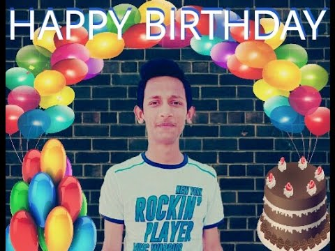 How To Edit Happy Birthday Pictures With Picsart