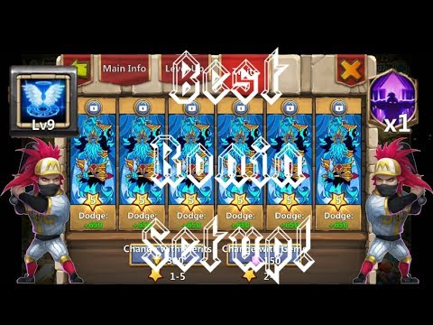 9 Revive | Survival | 12 Skill Ronin | 8 Nimble | Gameplay | Castle Clash