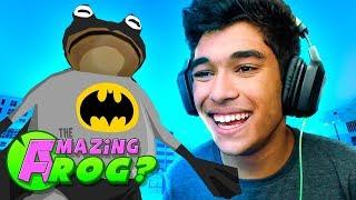 O SAPO VIROU O BATMAN !! ( Amazing Frog )