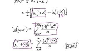 video 2797 maclaurin series ln 1 x 1 x practice 1 2