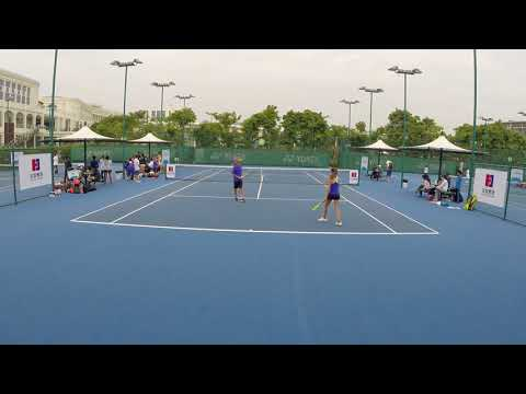 BTC Zhuhai Round 1 Mixed Doubles India and Alex L vs Shenzhe