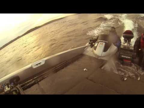 Stuffing Waves on Lake Champlain