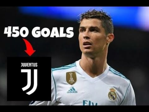 Cristiano Ronaldo All 450 Goals- Real Madrid w English Commentary