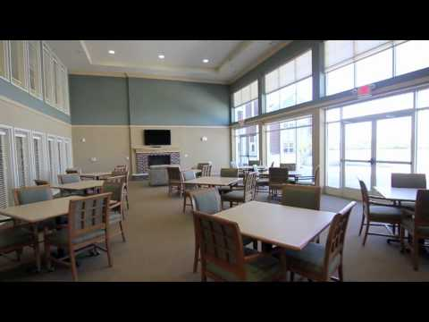 The Rivers Senior Living - Floor plan samples and community areas
