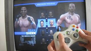 UFC 2009 undisputed part 1 - Xbox 360 [FR]