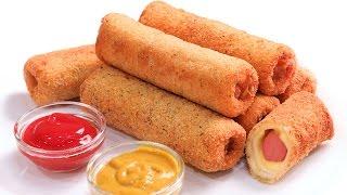 Rollitos de Salchicha y Queso  Hot Dog súper deliciosos!