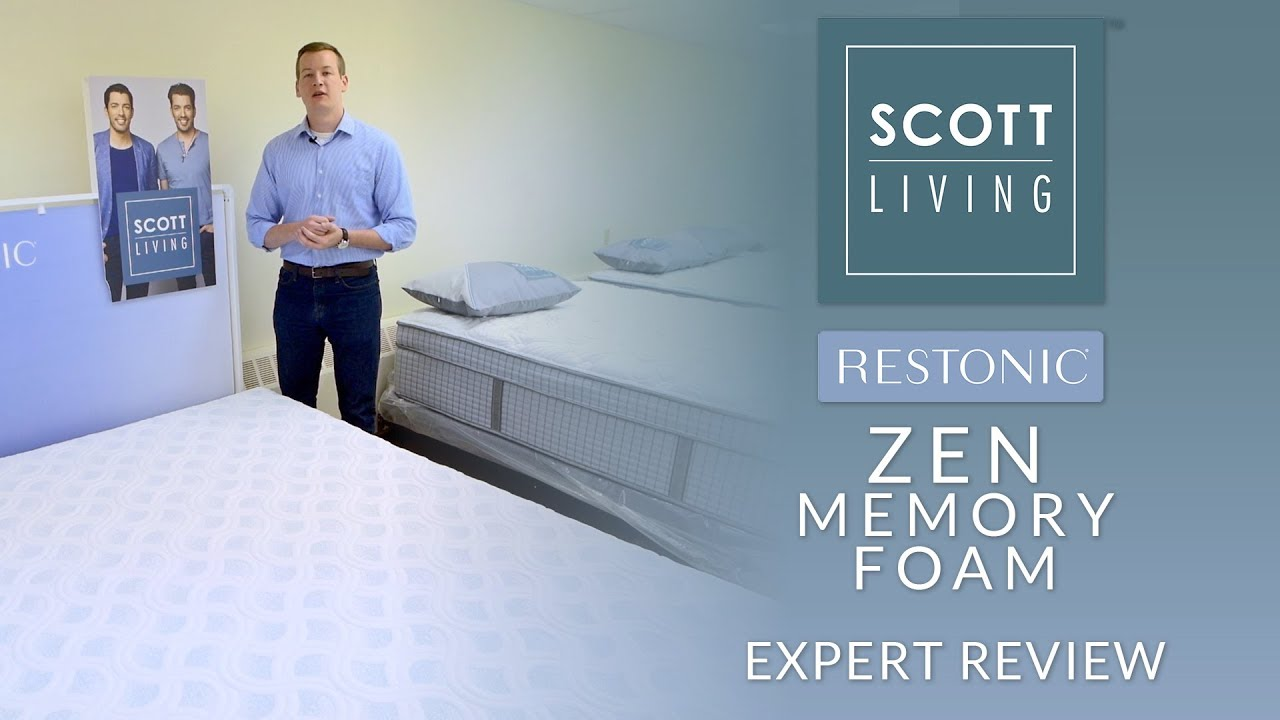 Restonic Scott Living Zen Memory Foam Mattress Expert Review
