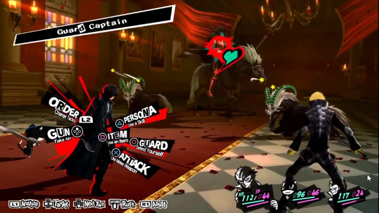 Image result for persona 5 gameplay