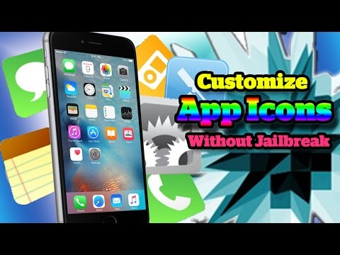 How To Change And Customize iPhone iPad And iPod Touch App Icons Without Jailbreak