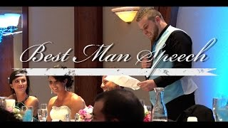 Herman Wedding 5/15/15 -- Best Man Speech(Lance Herman, Best man to Brandon Herman, gives a speech about his brother that will be remembered for a lifetime. It is funny, and touching as the bond ..., 2015-05-21T20:19:23.000Z)