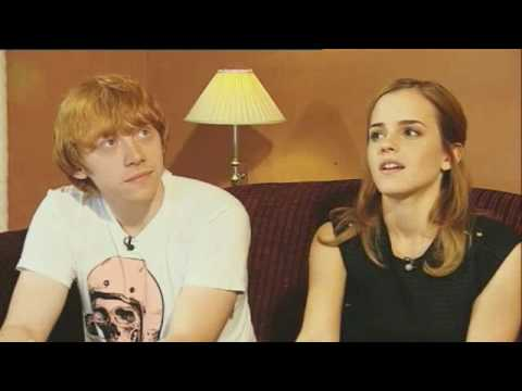 GMTV Interview with Rupert Grint and Emma Watson