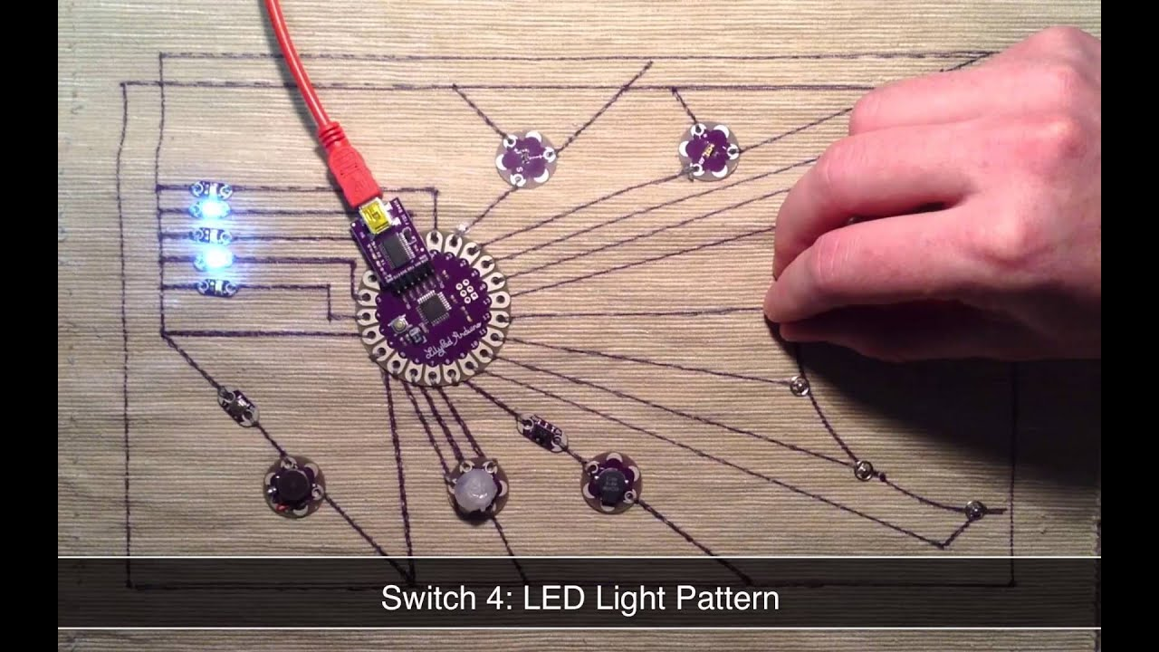 lilypad arduino projects Overviewthe lilypad arduino is a microcontroller board designed for wearables and e-textiles it can be sewn to fabric and similarly mounted power supplies, sensors and actuators with conductive thread.