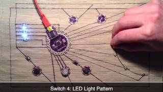 LilyPad Arduino Sensor Mat