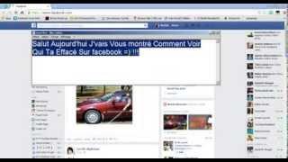 Comment Voir Qui Ta Effacé Sur Facebook Thumbnail