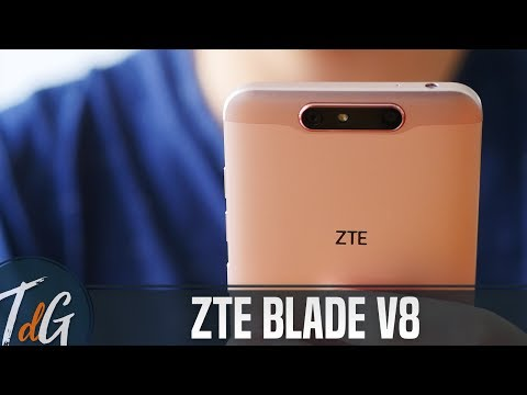 ZTE Blade V8, review en español