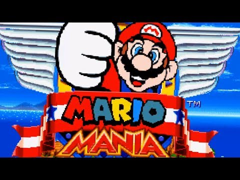Sonic Mania but with Mario |