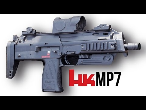 H&K MP7 Sub Machine Pistol Mini-Documentary (Battlefield Veg