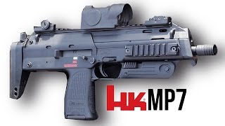 H&K MP7 Sub Machine Pistol Mini-Documentary (Battlefield Vegas)
