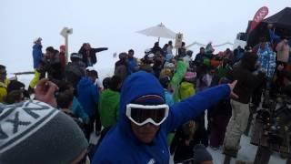 snowfest eind fest berg