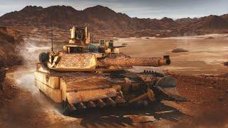 Armored Warfare  На таран Максимальный урон от тарана на М1А1 Storm  PVE