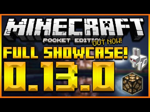 ★MINECRAFT POCKET EDITION 0.13.0 - UPDATE FULL SHOWCASE REDSTONE, RABBITS, TEMPLES (MCPE 0.13.0)★