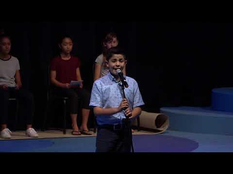 7th Grade Damon Speech Contest (March 6, 2018)