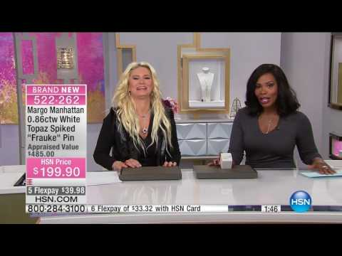 HSN | Margo Manhattan Jewelry Premiere 01.09.2017 - 02 AM