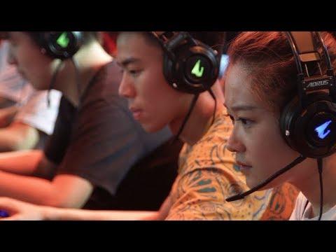 Gaming Gear Enthusiasts   #AORUS at ChinaJoy 2017