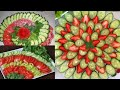 simple easy salad decoration ideas/new salad decoration for guests/quick salad decoration ideas