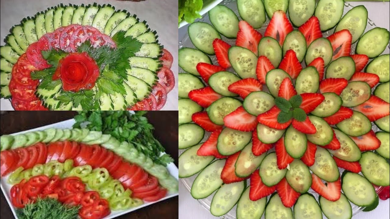 Simple Easy Salad Decoration Ideas New Salad Decoration For Guests