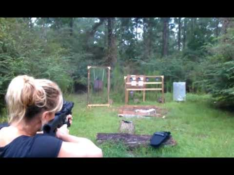 Wife shooting steel m&p 15-22