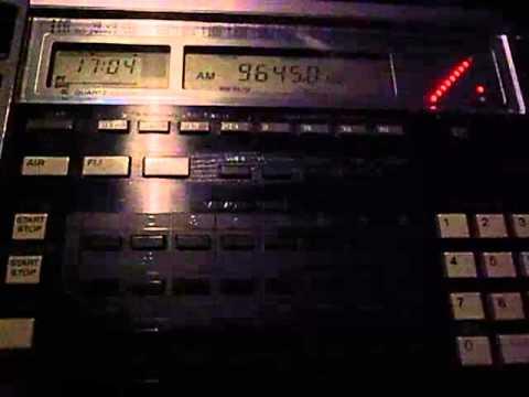 9645kHz China National Radio Kazakh (CNR8) closing 爱我中华