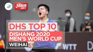 DHS Top 10 Points | Dishang 2020 ITTF Men's World Cup