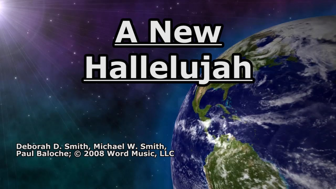 Smith a new hallelujah sheet music for piano solo [pdf].