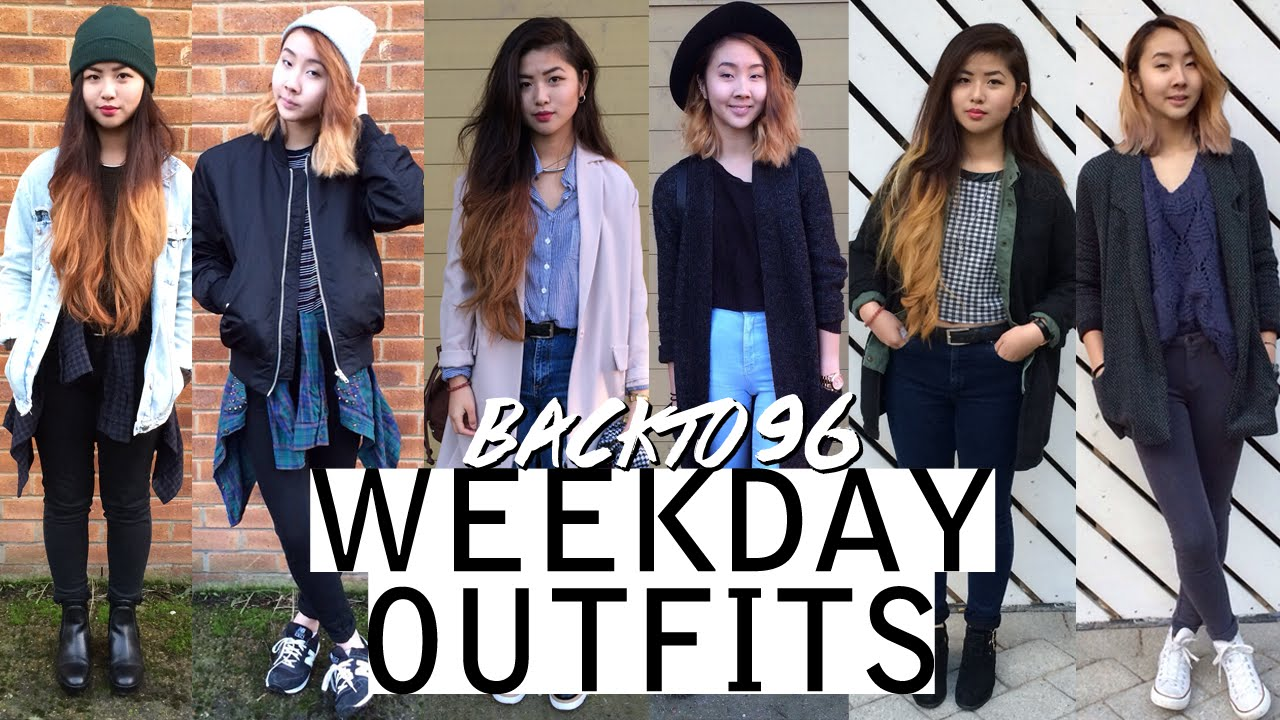 Weekday outfits