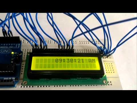 LCD Clock code (Arduino): For more information and lots of other projects visit  http://zseries.in/  For lots of other tutorials please visit http://zseries.in/project%20lab/tutorials