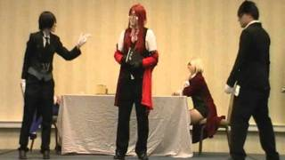 kuroshitsuji in 5 minutes anime festival wichita 2011 skit