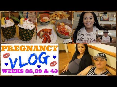 Pregnancy Vlog 38-40 Weeks Due Date, Joe's Crab Shack, Sephora, Father's Day, @KimmyDollX3