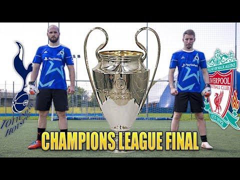 CHAMPIONS LEAGUE FINAL CHALLENGE - Totthenam VS Liverpool